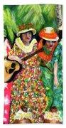 Memories Of The Kodak Hula Show At Kapiolani Park In Honolulu #20 Beach Sheet