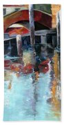 Memories Of Venice Beach Towel