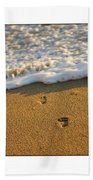 Memories Washed Away Beach Towel