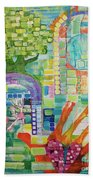 Memory Garden Beach Towel