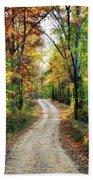 Country Roads Beach Sheet