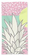 Memphis Pineapple Top Beach Towel