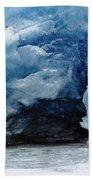 Mendenhall Glacier Face Beach Towel