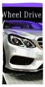 Mercedes E350 E Class 4matic No 2 Beach Towel