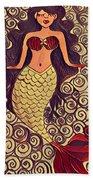 Mermaid Dreams Beach Sheet