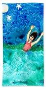 Mermaid Metamorphosis Beach Towel