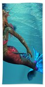 Mermaid Of The Ocean Beach Towel