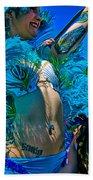Mermaid Parade Participant Beach Towel