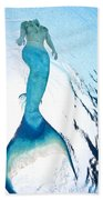 Mermaid Rise Beach Towel