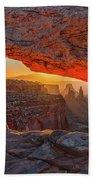 Mesa Arch Sunrises Glow Beach Towel