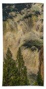 Mesa Falls In Summer Beach Towel