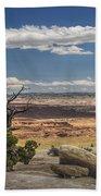 Mesa View In Utah Beach Towel