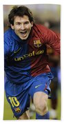 Messi 1 Beach Towel