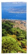 Messina Strait - Italy Beach Towel