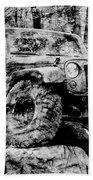 Metallic Jeep Jku Wrangler Beach Towel