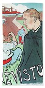 Mevisto In The Country French Theatre Ad Beach Towel