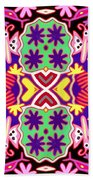Mex Mod - Huichol 116 Beach Towel
