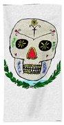 Mexican Flag Of The Dead Beach Towel