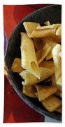 Mexican Inn Chips And Salsa Beach Towel