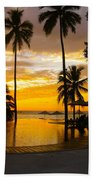 Mexican Sunset Beach Towel