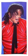 Michael Jackson 2 Beach Towel