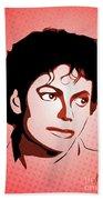 Michael Jackson - Thriller - Pop Art Beach Towel