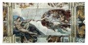 Michelangelo: Adam Beach Towel