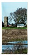 Michigan Farm Beach Towel