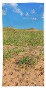 Michigan Sand Dune Landscape In Summer Beach Towel