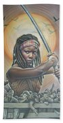 Michonne Beach Towel