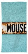 Mickey Mouse Blvd Beach Towel