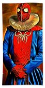 Middle Ages Spider Man Beach Towel