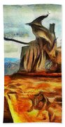 Middle Earth Airliner 2 - Da Beach Towel