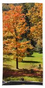 Middle Falls Viewpoint In Letchworth State Park Beach Towel
