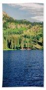 Middle Fork Lake Beach Towel