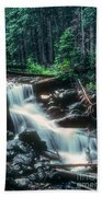 Middle Fork Red River Falls Beach Towel