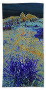 Midnight At The Burning Coal Vein Beach Towel