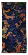 Midnight Canopy  Beach Towel