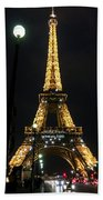 Midnight In Paris Beach Towel