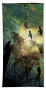Midnight Magic Beach Sheet