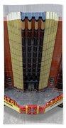 Art Deco Theater Beach Sheet