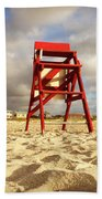 Mighty Red Beach Towel