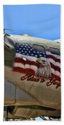 Mighty B-17 Fortress Beach Towel