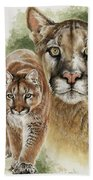 Mighty Beach Towel by Barbara Keith