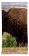 Mighty Bison Beach Towel