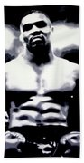 Mike Tyson Beach Towel