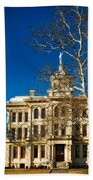 Milam County Courthouse Beach Towel