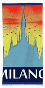Milan Cathedral, Italy Beach Towel