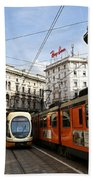 Milan Trolley 4 Beach Towel