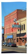 Miles City, Montana - Downtown Casino 2 Beach Towel